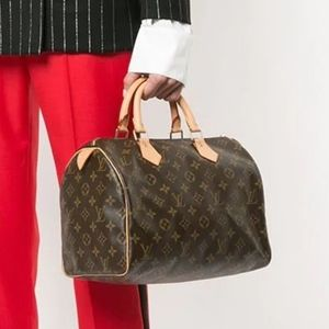 2019 Louis Vuitton Monogram Classic Speedy 30 Bag